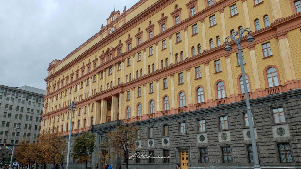 Place Loubianka Moscou