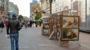 Rue Arbat Moscou