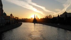 coucher du soleil Kremlin