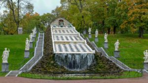 Fontaines jardins parlais peterhof