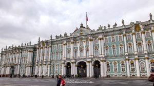 visiter le palais d'hiver