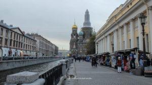 Saint-Pétersbourg saint sauver sur le sang versé