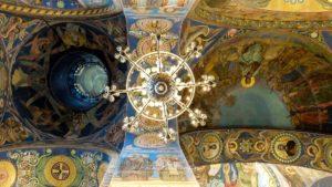 Eglise saint sauveur sur le sang versé