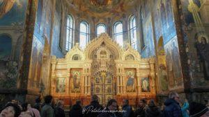 Eglise saint sauveur sur le sang versé Saint-Pétersbourg