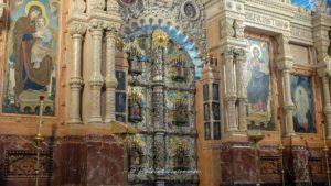 Eglise saint sauveur Saint-Pétersbourg