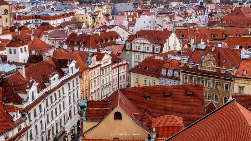 Tour de l'horloge astronomique Prague