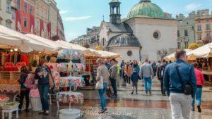 marché de pâques pologne