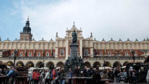 halles du marché Caracovie