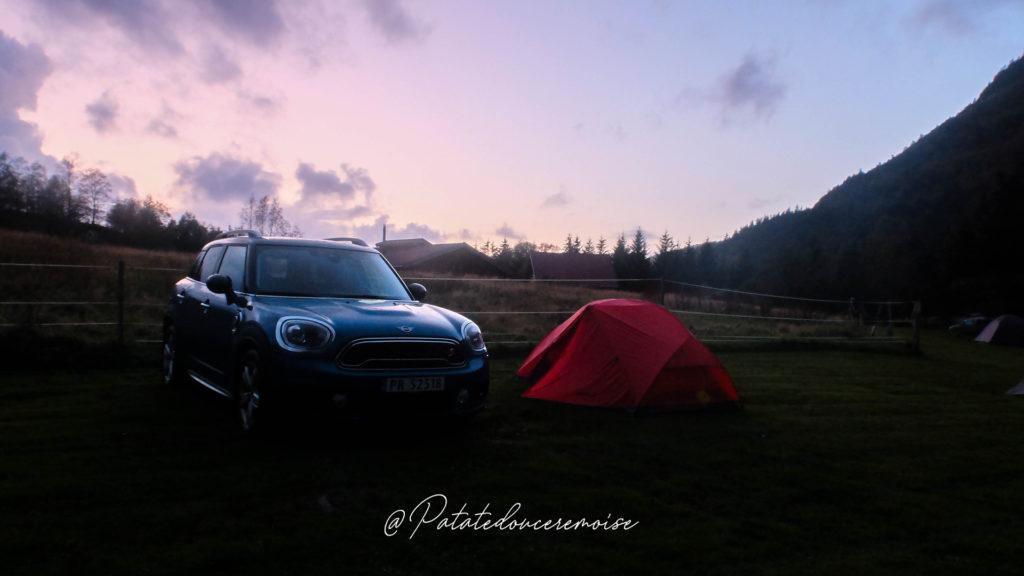 Preikestolen Camping Norvège