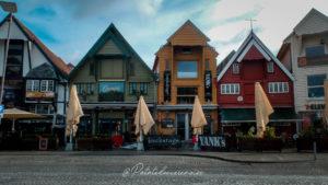 Port de Stavanger fjords du sud-ouest