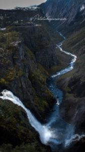 Cascade Vøringfossen norvège