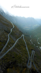 La route des Trolls norvège