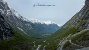 Trollstigen viewpoint norvège