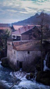 Village de Rastoke Croatie