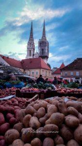 Marché de Dolac Zagreb