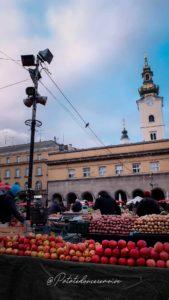 Marché de Dolac Croatie