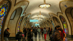 Visiter Moscou en métro
