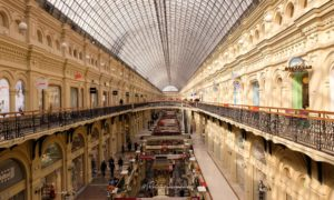 shopping place rouge moscou