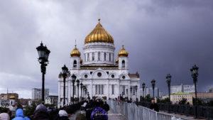 Cathédrale Christ saint sauveur Moscou