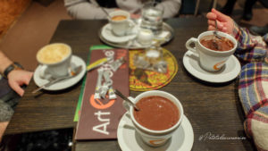 chocolat chaud art n coffee
