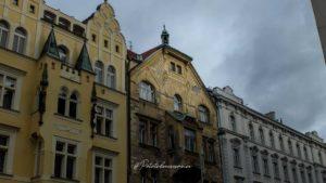 maisons colorées pragues